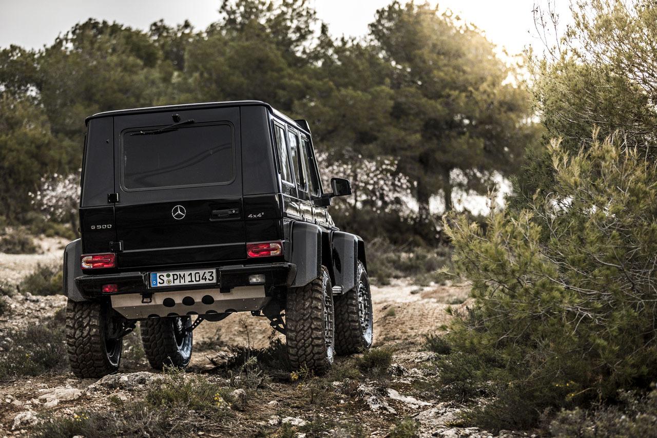 Foto de Mercedes-Benz G 500 4x4², toma de contacto (111/127)