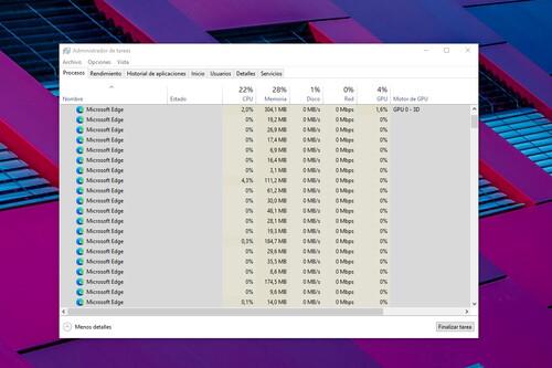 Microsoft explica por qué al abrir una pestaña en Edge se ejecutan tantos procesos diferentes