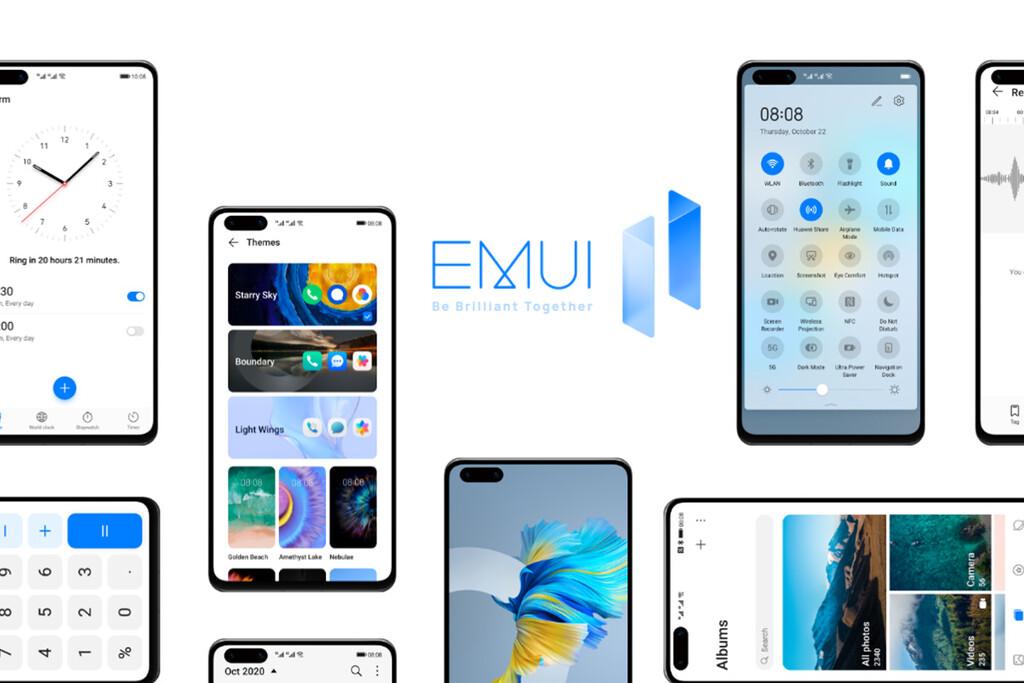 EMUI 11.1 será la última versión de la capa según filtraciones: asistirá en marzo y con el kernel de HarmonyOS