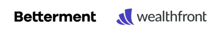 Betterment Wealthfront Logos