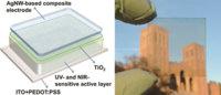 Investigadores de UCLA presentan un prototipo de células fotovoltaicas semitransparentes