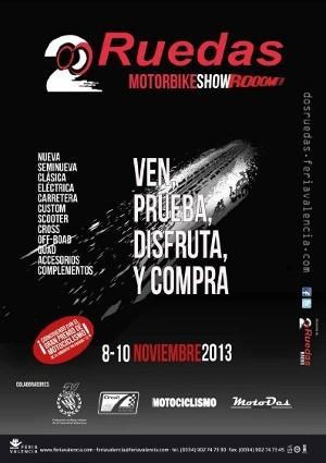 Valencia: el salón 2 Ruedas en Feria Valencia con descuentos de hasta el 50 % en motos