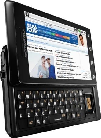Motorola Droid con Android, el resurgir de un grande