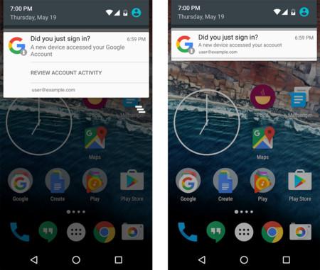 Android te avisará cuando un nuevo dispositivo acceda a tu cuenta de Google