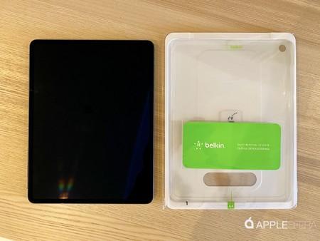 colocación cristal templado iPad Pro