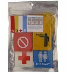 Identificadores disuasorios para maletas