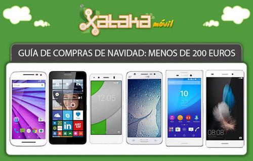 Guía de compras de Navidad: smartphones hasta 200 euros