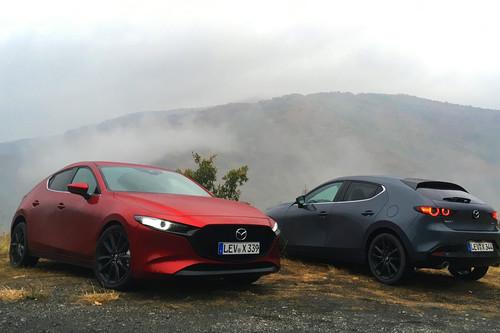 Probamos el Mazda3 Skyactiv-X: un revolucionario motor gasolina de 180 CV que gasta como un diésel pero anda como un 140 CV