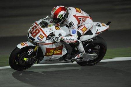 MotoGP Qatar 2011: Marco Simoncelli, cuarta HRC, cuarta Honda clasificada