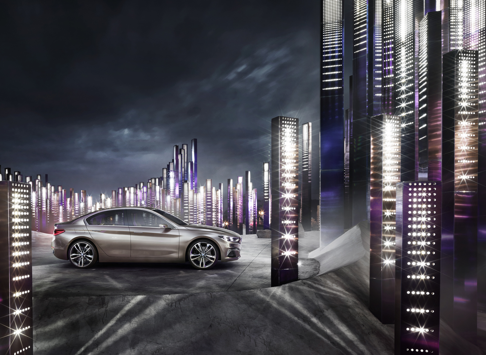 Foto de BMW Concept Compact Sedan (25/26)
