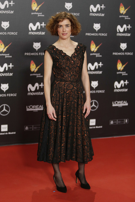 premios feroz alfombra roja look estilismo outfit Patricia Lopez Arnaiz