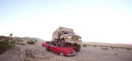 Dolorpasión™ es ver cómo torturan un precioso BMW 325i Cabrio para hacer un vídeo viral