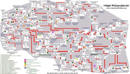 Mapa Prision Prisionmap2