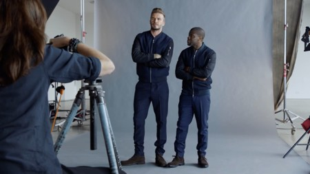 Kevin Hart David Beckham Hm Essentials Collection