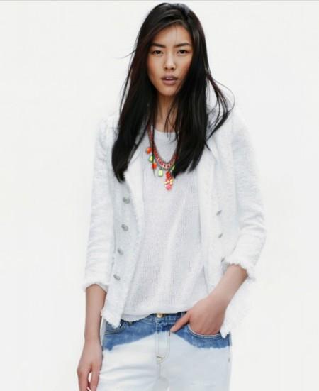 Zara colección de abril: noches de blanco satén soñando con Mata Mua