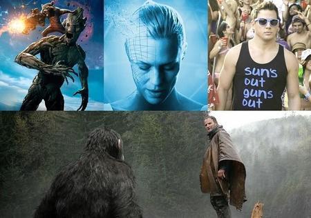 Las 7 mejores películas del verano de 2014