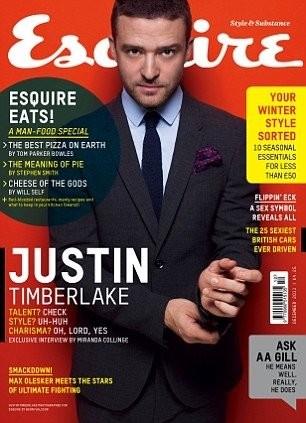 Justin Timberlake para Esquire y lo bien que le sientan los años... ¡Ñam, ñam!