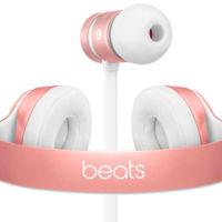 Si el oro rosa es tu color, ya puedes conjuntar tu iPhone 6S con los auriculares de Beats