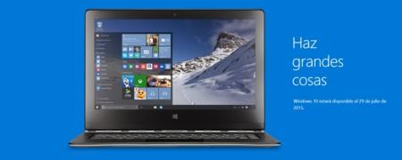 Ya casi llega el día, el 29 de Julio Windows 10 será lanzado oficialmente