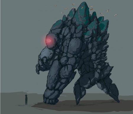 Enemigo gigante Ganoko de Mulaka - Origin Tribes