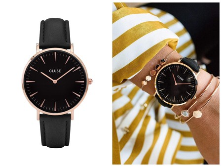 Reloj Negro Cluse Oferta