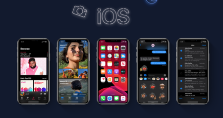 iOS 13 se pasa al lado oscuro con el 'modo noche', nuevas direcciones de correo inventadas para SPAM y mapas rediseñados