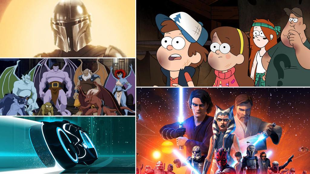 Las 21 mejores series de Disney+