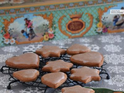 Galletas de miel, cacao y especias navideñas. Receta de Navidad