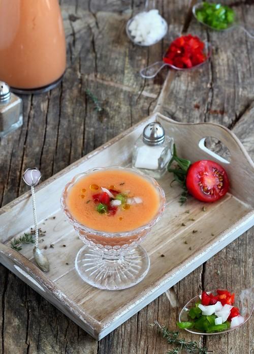 Paseo por la gastronomía de la red: Gazpachos y sopas frías