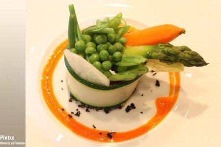Arbosana: verduras de nuestra huerta con aceite arbosana.