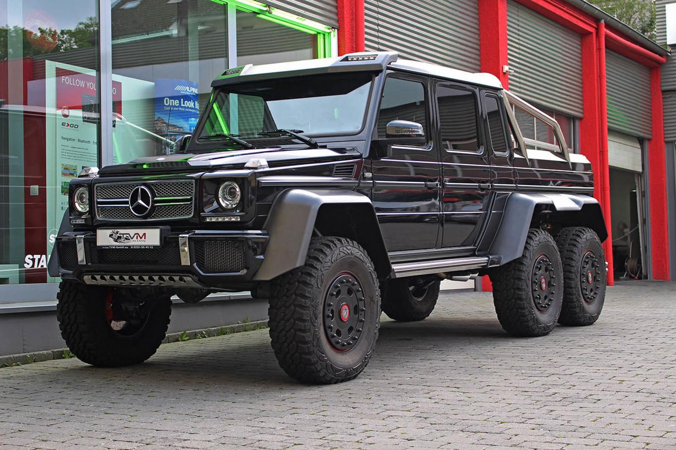 Mercedes G63 Amg 6x6 Ahora Puedes Hacerte Con Uno De Los 100 Unicos Que Se Vendieron