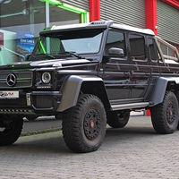 ¿Sigues con manía a los SUV? Ahora puedes hacerte con uno de los 100 únicos Mercedes-Benz G63 AMG 6x6