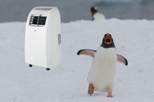 """Compra un aire acondicionado portátil barato: cinco """"pingüinos"""" de menos de 200 euros para combatir la ola de calor"""