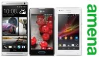 HTC One Max, Sony Xperia M y LG Optimus L7 II llegan a Amena