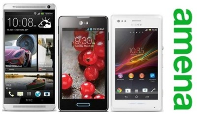 HTC One Max, Sony Xperia M y LG Optimus L7 II llegan a Amena