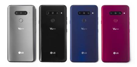 Lg V40 Thinq Oficial Colores