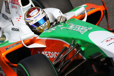 Force India continúa sorprendiendo