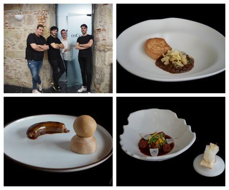 El Equipo Del Restaurante Consentido Salamanca Y Varios De Sus Platos