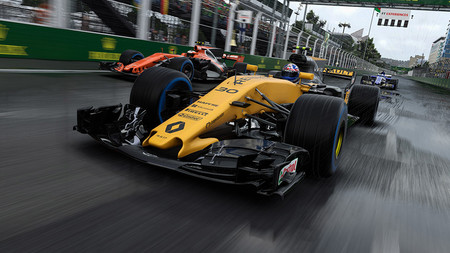 F1 2017 ya está disponible para Mac con todos los pilotos, equipos, circuitos y coches de la temporada
