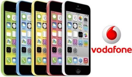 Precios iPhone 5c 8 GB con Vodafone y comparativa con Movistar y Orange