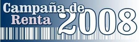 Renta 2008: programa PADRE y manual de ayuda