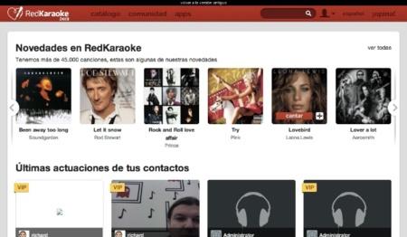 Red Karaoke renueva su portal web, a fondo