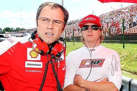 """Kimi Raikkonen, el """"sacrificado"""" en Ferrari"""