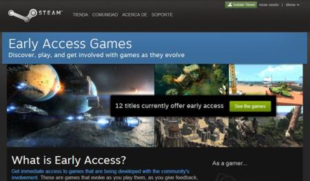 Steam Early Access permite probar juegos en desarrollo antes de su lanzamiento