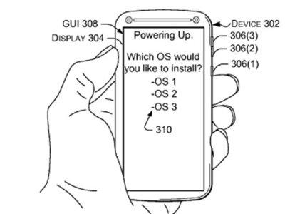 El concepto de teléfono multiplataforma aparece en una patente de Microsoft