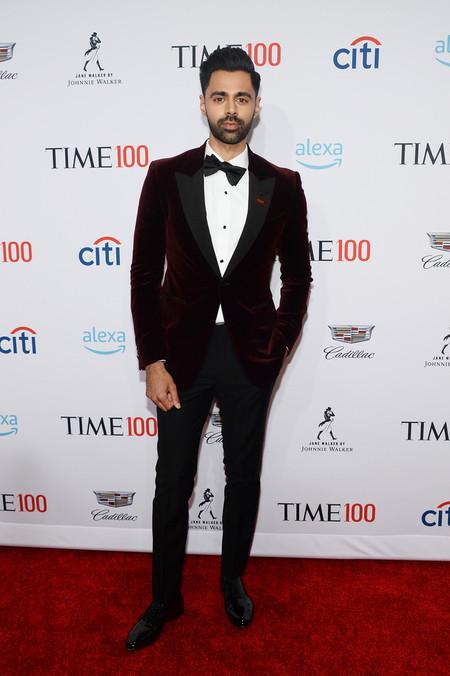 Hasan Minaj Time 100 Gala 2019 Red Carpet Alfombra Roja