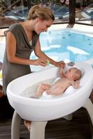Bañera con hidromasaje para tu bebé