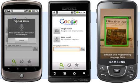 Google Shopper para Android, información de productos en tu mano