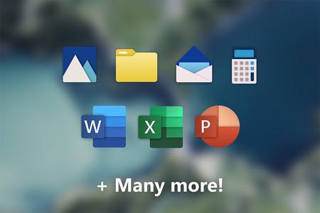 Nuevos iconos de Office y Windows 10