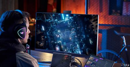 Asus lanza el ROG Swift PG32UQX, su nuevo monitor gaming con panel miniLED 4K, FALD de 1.152 zonas y DisplayHDR 1400